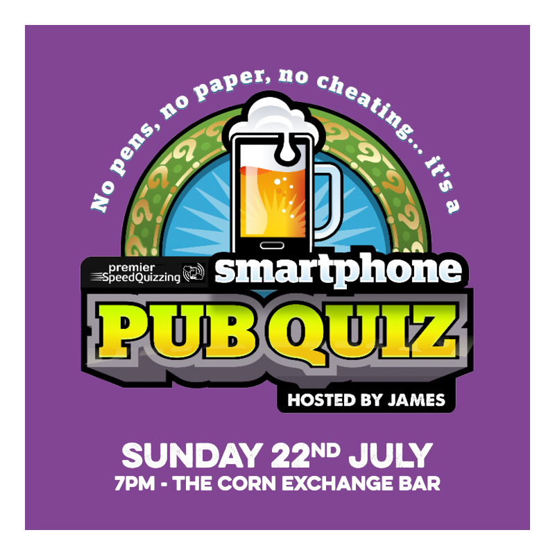 Join the guestlist for Smartphone Pub Quiz - July at Edinburgh