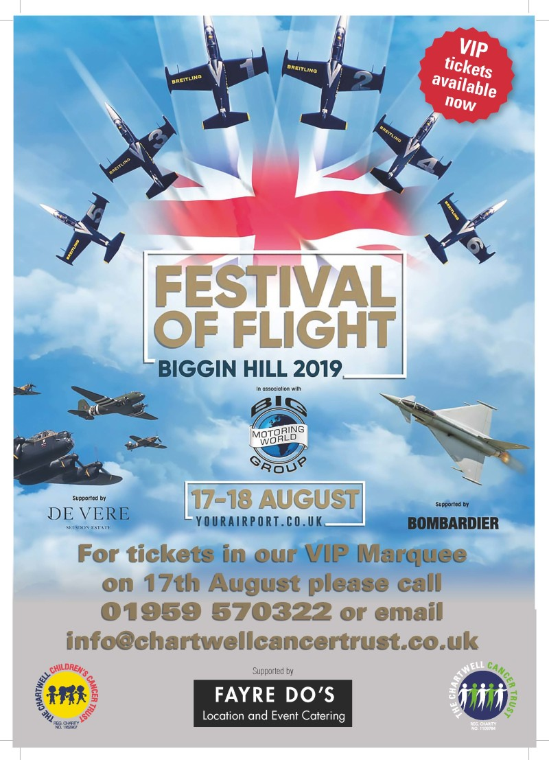 Biggin Hill Festival Of Flight >> Buy Tickets Join The Guestlist For The Chartwell Cancer