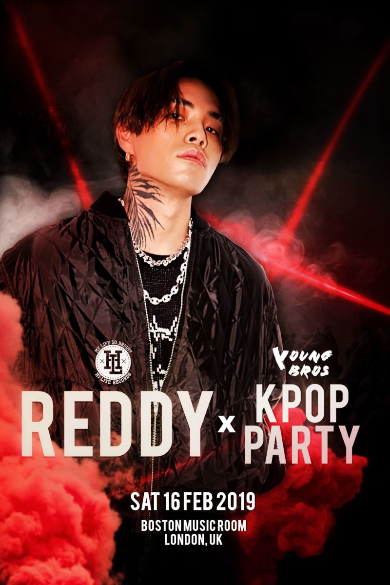 Buy tickets for Reddy x K-Pop Party by Young Bros in London