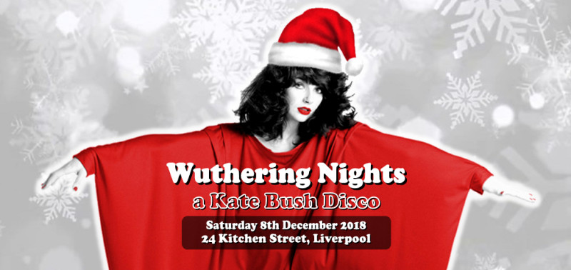 Buy tickets for Wuthering Nights: a Kate Bush Disco in