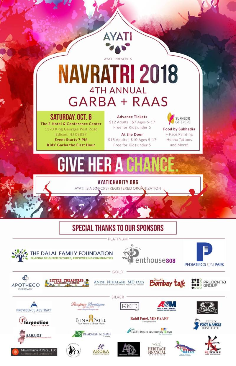 Buy tickets / Join the guestlist for Ayati Family Garba/Raas
