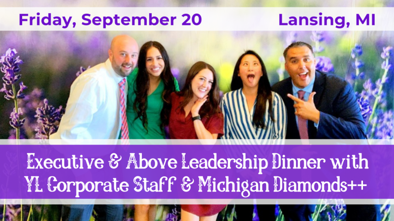 Buy tickets for Executive & Above Leadership Dinner w/ YL