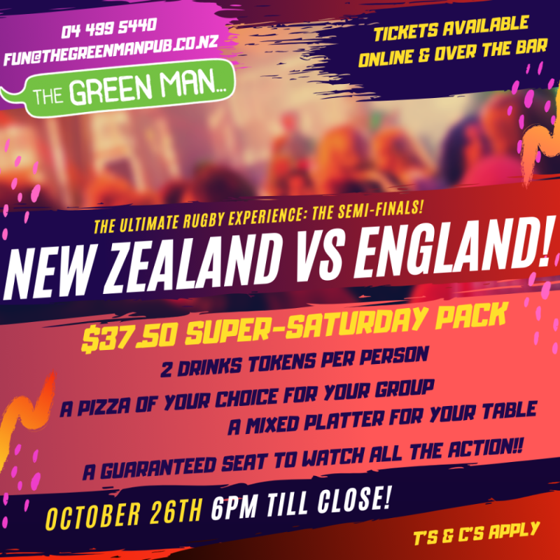 Buy Tickets For The Ultimate Rugby Experience The Semi